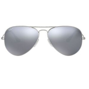 NBW -Ray Ban Aviator Polarized ( Grey Mirror)